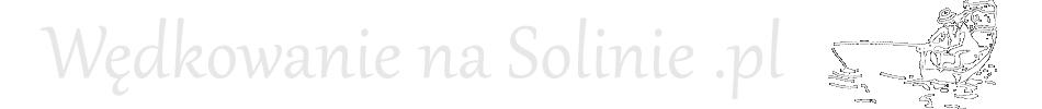 Wędkowanie na Solinie